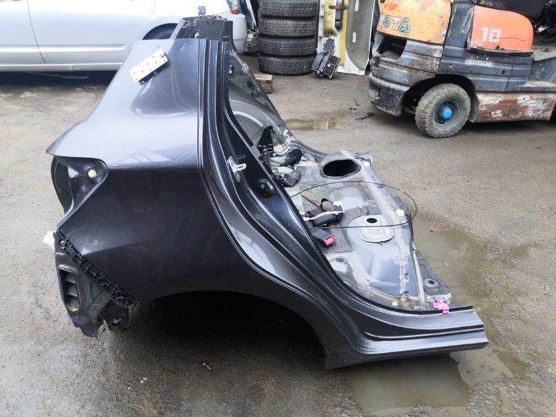 Задняя часть а/м Toyota Vitz NSP135 1NRFE 2011 (б/у)