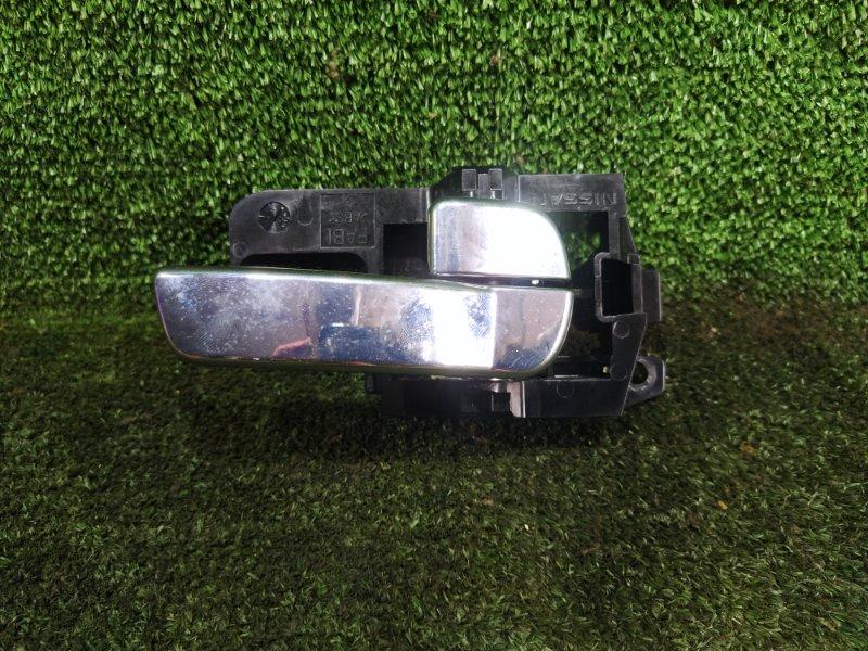 Ручка двери внутренняя Nissan Dualis NJ10 MR20DE передняя правая (б/у)