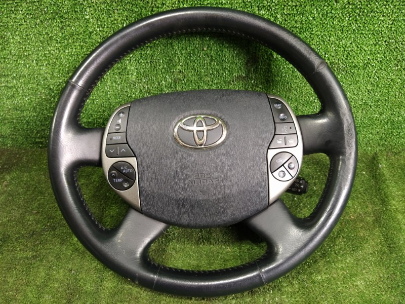 Руль с airbag Toyota Prius NHW20 1NZFXE 2008 (б/у)
