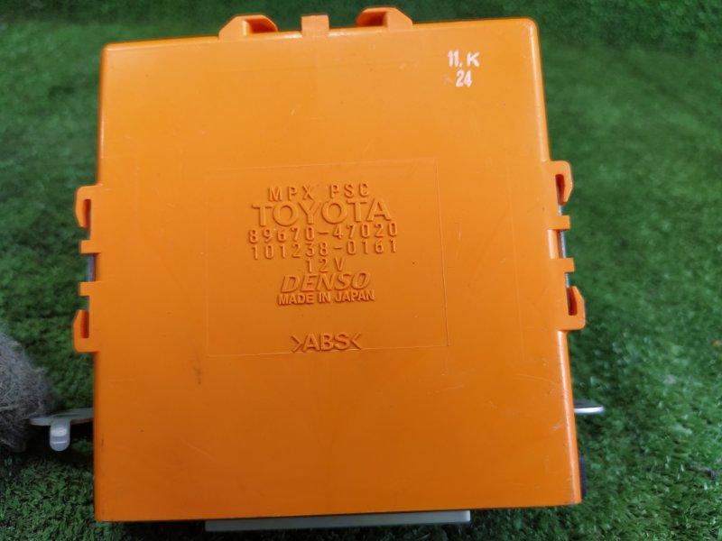 Электронный блок Toyota Prius NHW20 1NZFXE 2008 (б/у)