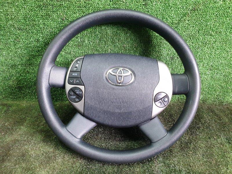 Руль с airbag Toyota Prius NHW20 1NZFXE 2009 (б/у)