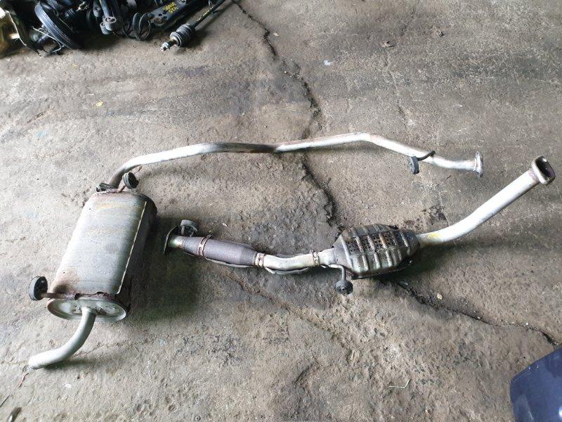 Глушитель Suzuki Jimny Wide JB33W G13B 1998 (б/у)