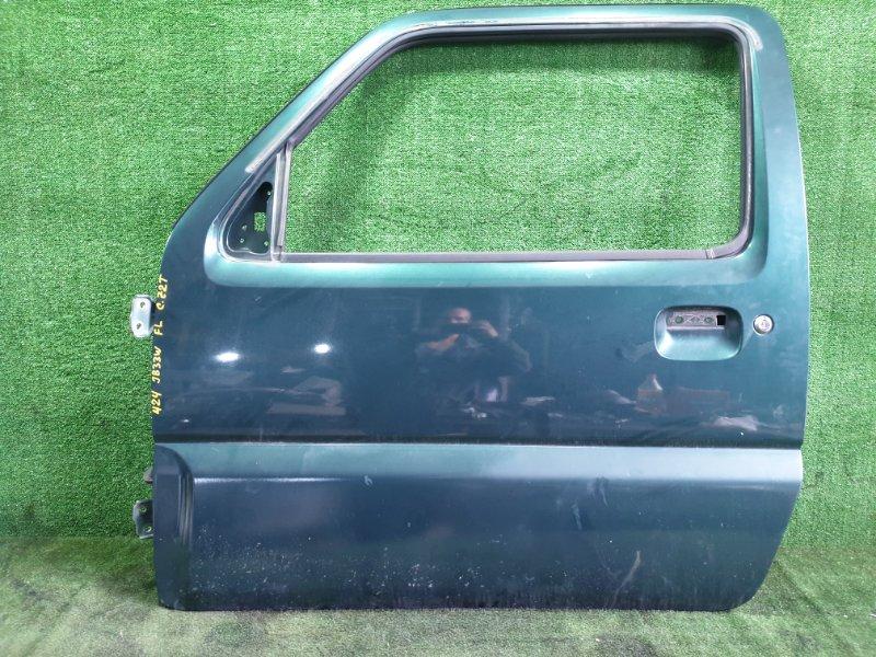 Дверь Suzuki Jimny Wide JB33W G13B 1998 передняя левая (б/у)