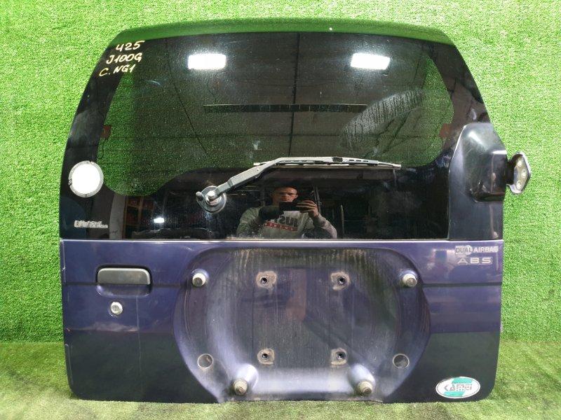 Дверь 5-я Daihatsu Terios J100G HCEJ 1997 (б/у)