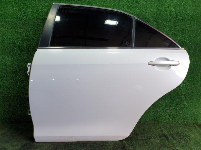 Дверь Toyota Camry ACV40 2AZFE 2006 задняя левая (б/у)