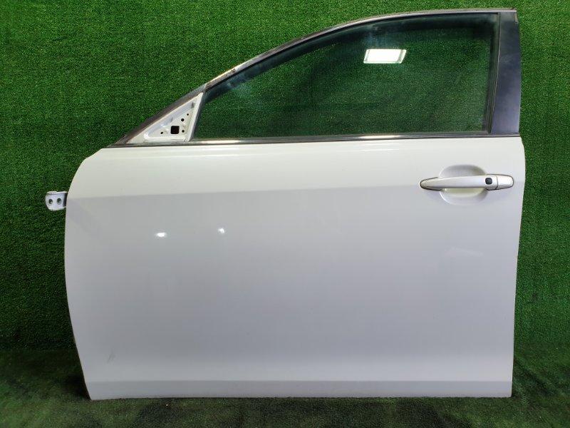 Дверь Toyota Camry ACV40 2AZFE 2006 передняя левая (б/у)