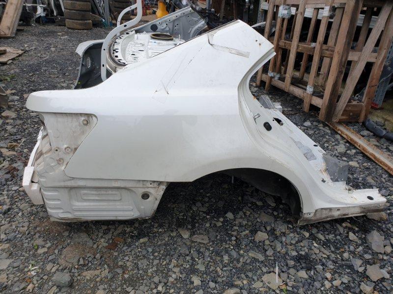 Крыло Toyota Camry ACV40 2AZFE 2006 заднее правое (б/у)