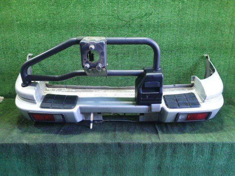 Бампер Mitsubishi Rvr N23WG 4G63 1995 задний (б/у)