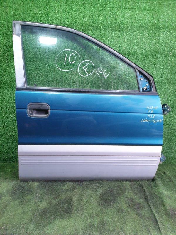 Дверь Mitsubishi Rvr N23WG 4G63 1995 передняя правая (б/у)