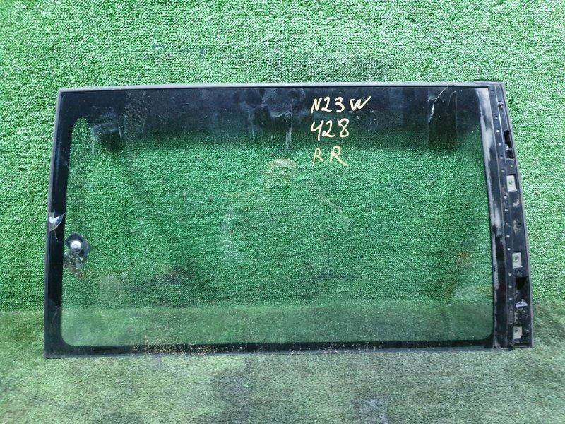 Стекло собачника Mitsubishi Rvr N23WG 4G63 1995 заднее правое (б/у)