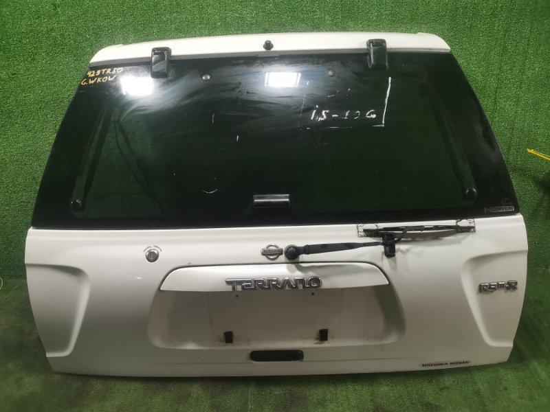 Дверь 5-я Nissan Terrano TR50 ZD30DDTI 2001 (б/у)
