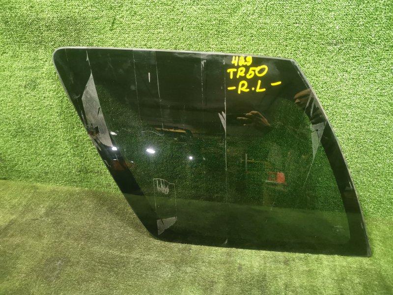 Стекло собачника Nissan Terrano TR50 ZD30DDTI 2001 заднее левое (б/у)
