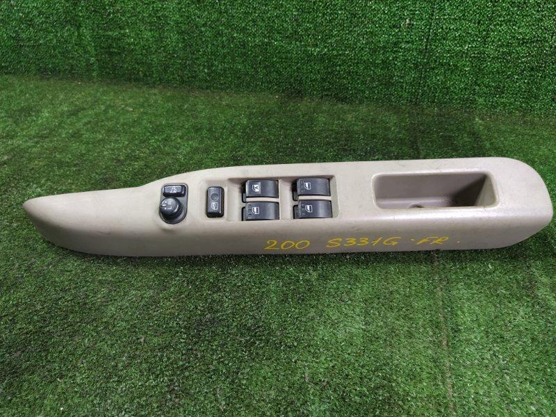 Блок управления стеклами Daihatsu Atrai S331G KFDET 2007 передний правый (б/у)