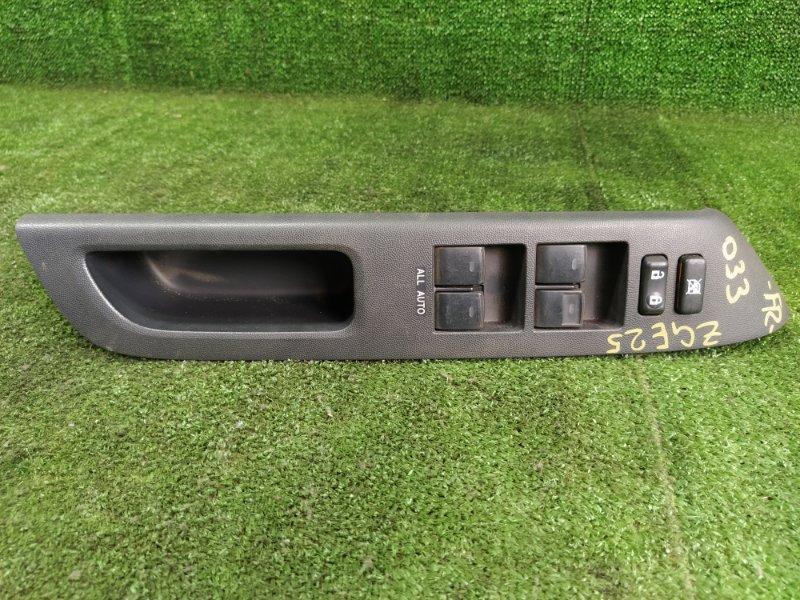 Блок управления стеклами Toyota Wish ZGE25 2ZRFAE 2009 передний правый (б/у)