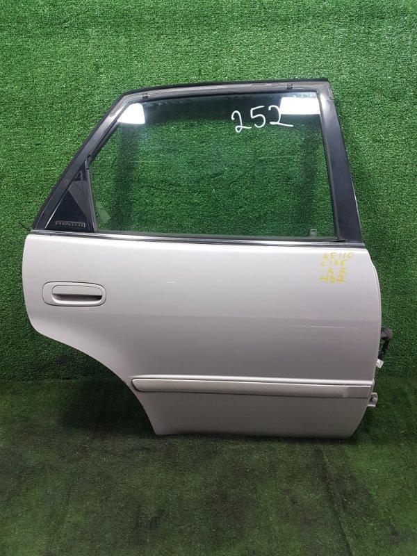 Дверь Toyota Sprinter AE110 5AFE 1998 задняя правая (б/у)