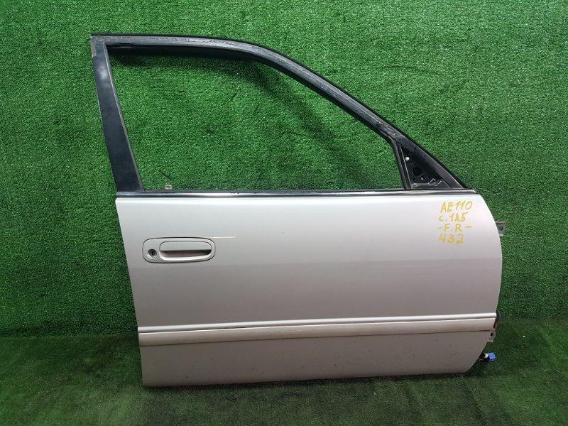 Дверь Toyota Sprinter AE110 5AFE 1998 передняя правая (б/у)