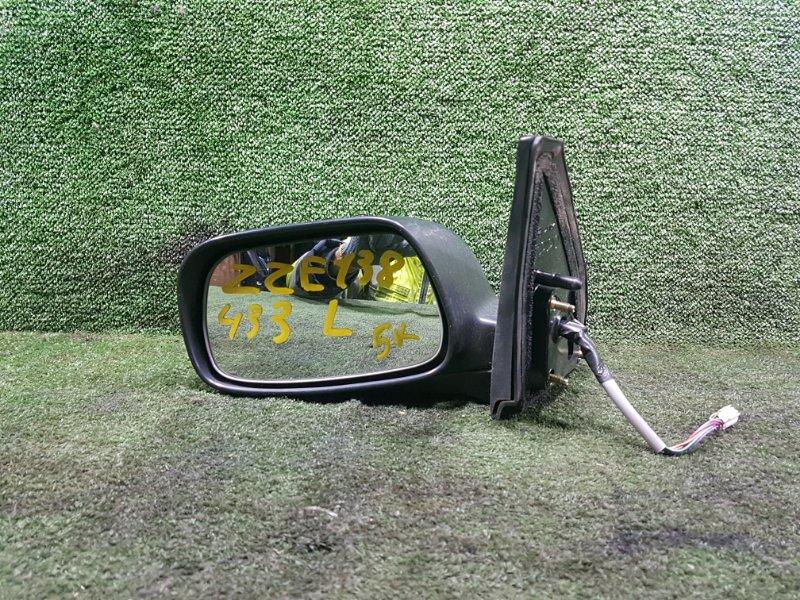 Зеркало Toyota Voltz ZZE138 1ZZFE 2002 переднее левое (б/у)