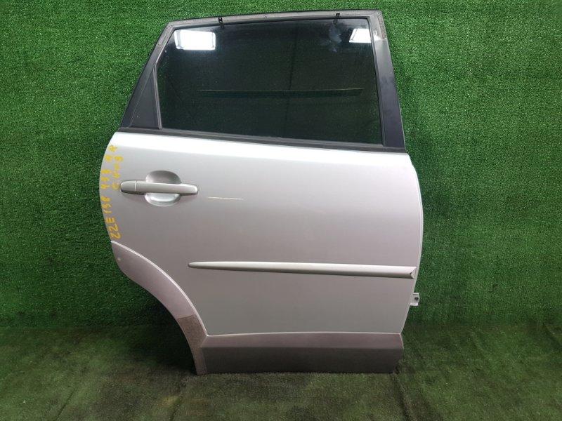 Дверь Toyota Voltz ZZE138 1ZZFE 2002 задняя правая (б/у)
