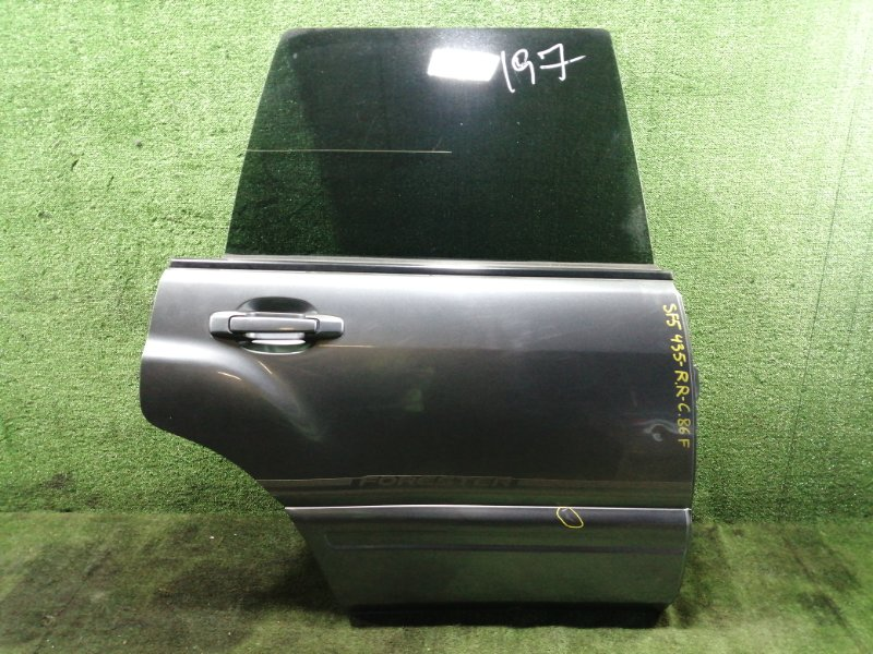 Дверь Subaru Forester SF5 EJ205 1999 задняя правая (б/у)