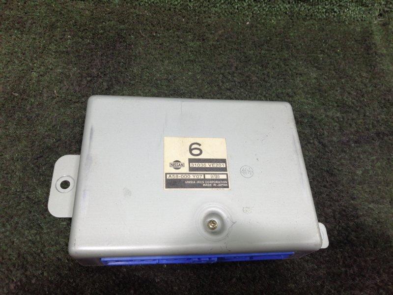 Блок управления акпп Nissan Elgrand AVWE50 QD32ETI 1999 (б/у)