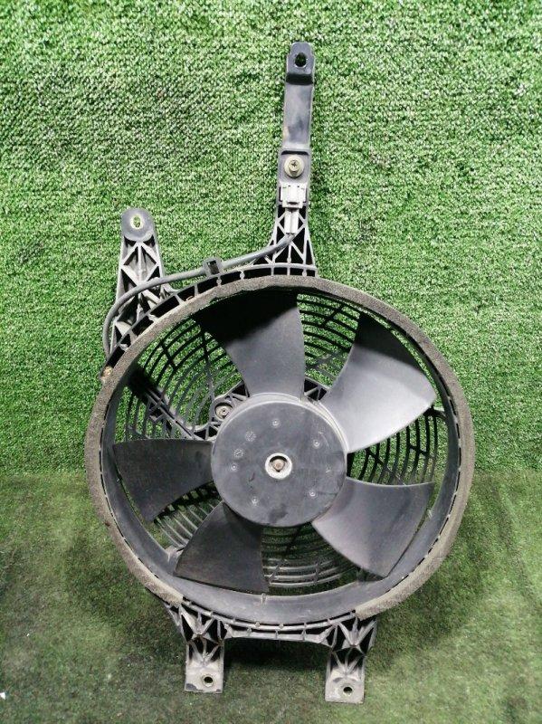 Вентилятор радиатора кондиционера Nissan Elgrand AVWE50 QD32ETI 1999 передний правый (б/у)