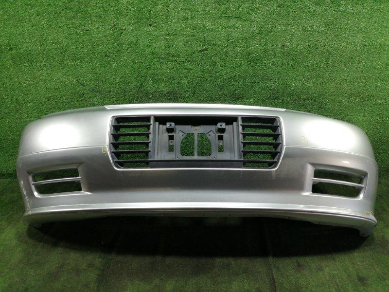 Бампер Nissan Elgrand AVWE50 QD32ETI 1999 передний (б/у)