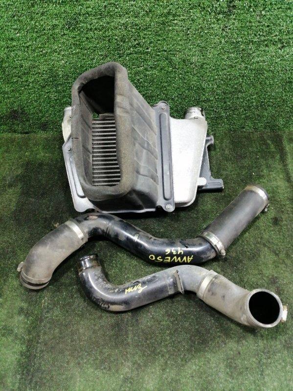 Радиатор интеркулера Nissan Elgrand AVWE50 QD32ETI 1999 (б/у)