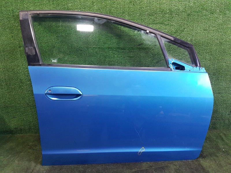 Дверь Honda Insight ZE2 LDA передняя правая (б/у)