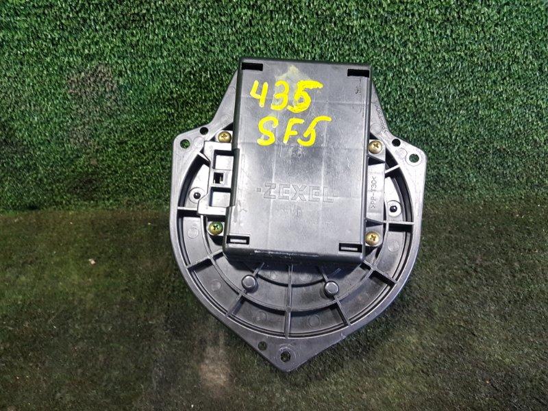 Мотор печки Subaru Forester SF5 EJ205 1999 передний (б/у)