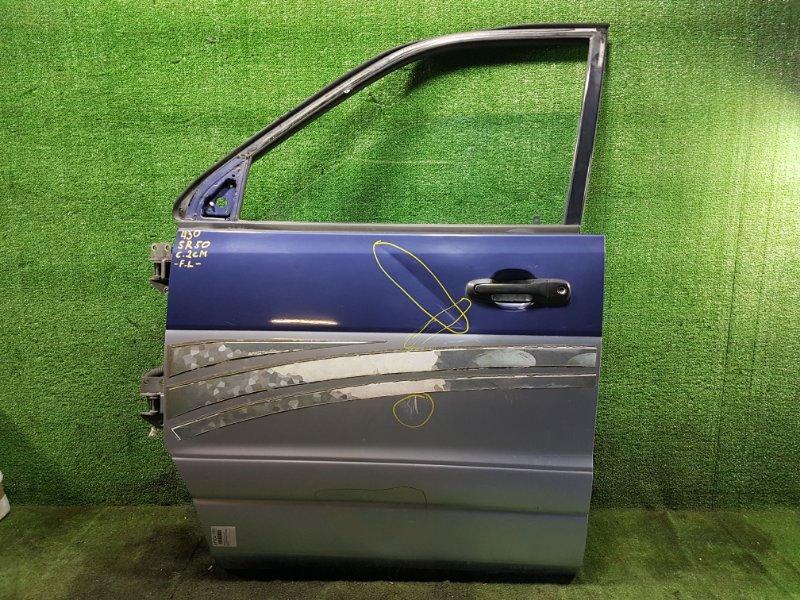 Дверь Toyota Noah SR50 3SFE 1997 передняя левая (б/у)