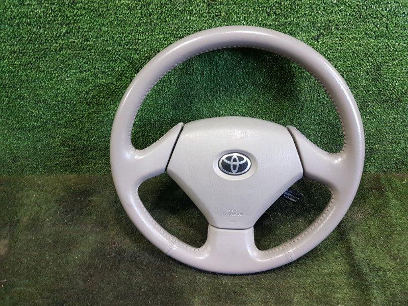 Руль с airbag Toyota Prius NHW11 1NZFXE 2001 (б/у)