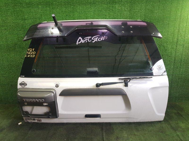 Дверь 5-я Nissan Terrano TR50 ZD30DDTI 2000 задняя (б/у)