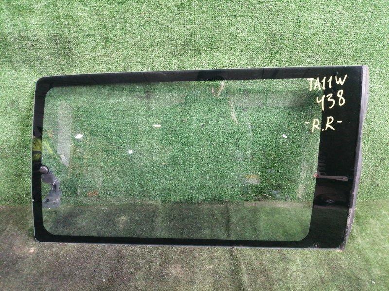 Стекло собачника Suzuki Escudo TA11W H20A 1995 заднее правое (б/у)