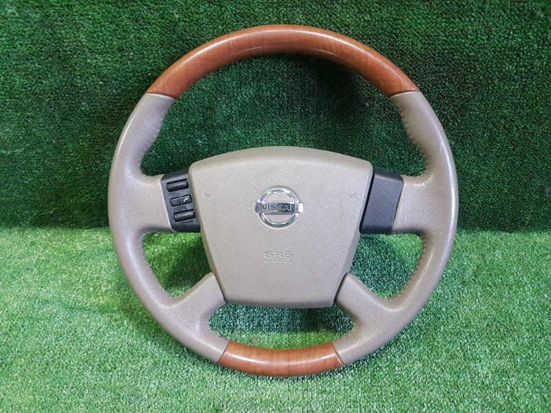 Руль с airbag Nissan Teana PJ31 VQ35DE 2005 (б/у)