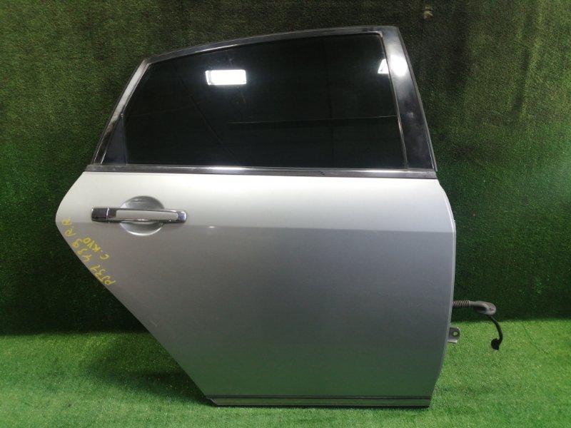 Дверь Nissan Teana PJ31 VQ35DE 2005 задняя правая (б/у)