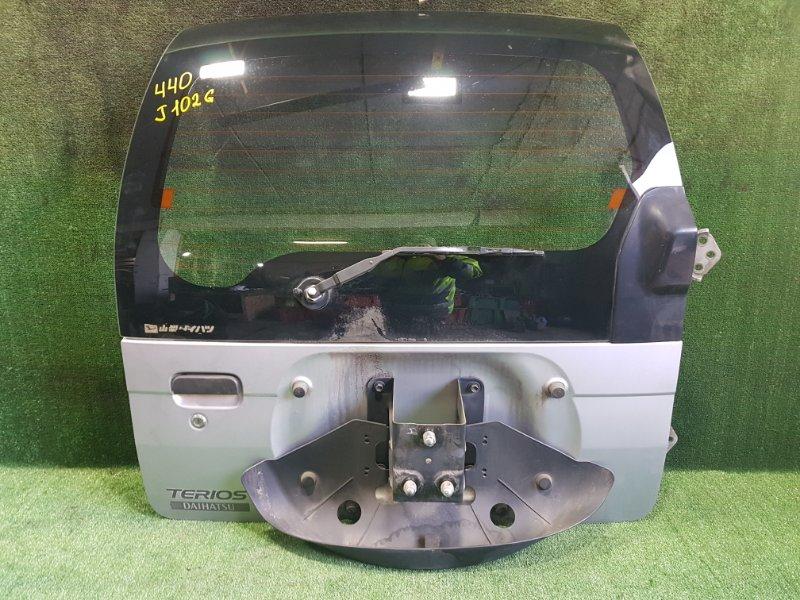 Дверь 5-я Daihatsu Terios J102G K3VE 2001 задняя (б/у)