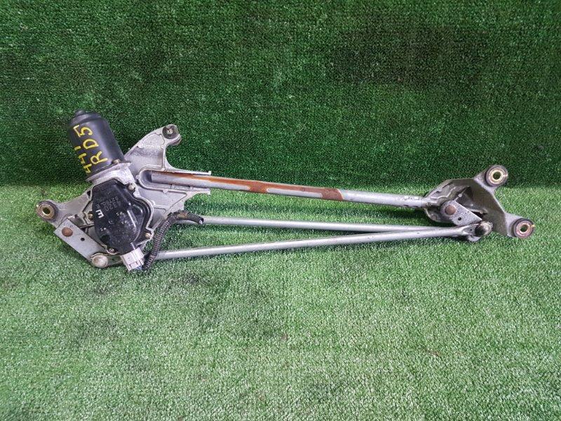 Механизм дворников Honda Cr-V RD5 K20A 2004 передний (б/у)