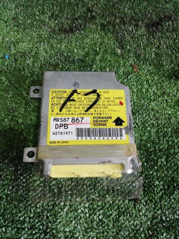 Блок управления airbag Mitsubishi Airtrek CU4W 4G64 2003 (б/у)