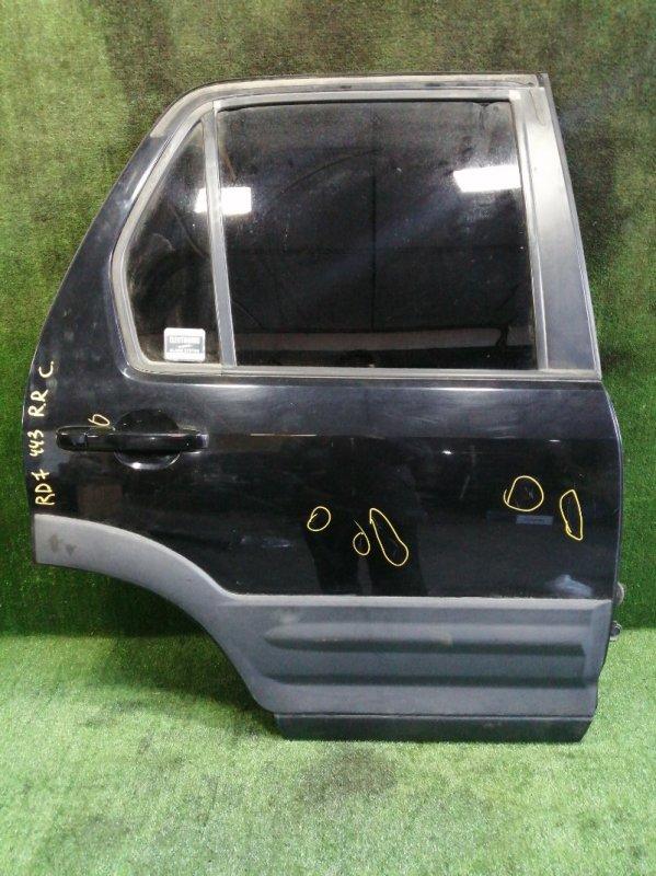 Дверь Honda Cr-V RD7 K24A 2006 задняя правая (б/у)