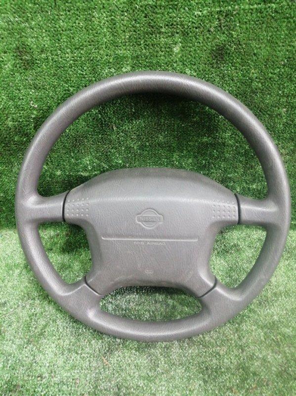 Руль с airbag Nissan Elgrand AVWE50 QD32ETI 1997 передний (б/у)