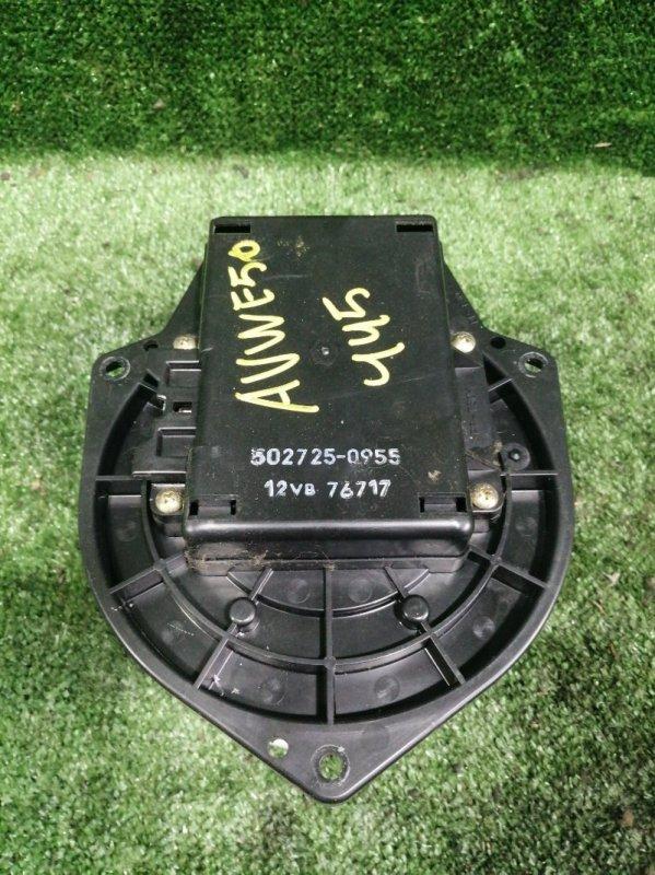 Мотор печки Nissan Elgrand AVWE50 QD32ETI 1997 передний (б/у)