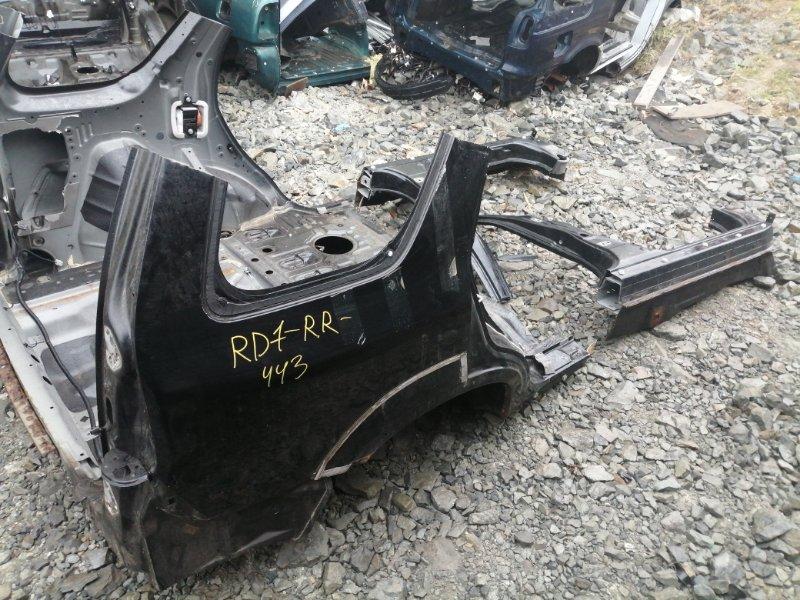 Крыло Honda Cr-V RD7 K24A 2006 заднее правое (б/у)
