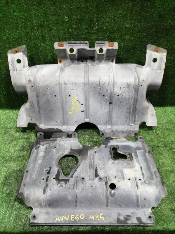 Защита двигателя Nissan Elgrand AVWE50 QD32ETI 1997 передняя (б/у)