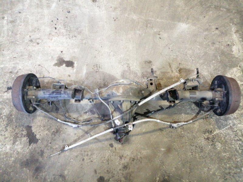 Мост Nissan Elgrand AVWE50 QD32ETI 1997 задний (б/у)