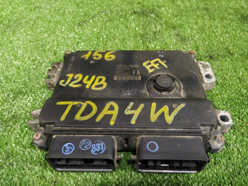 Блок управления efi Suzuki Escudo TDA4W J24B 2009 (б/у)