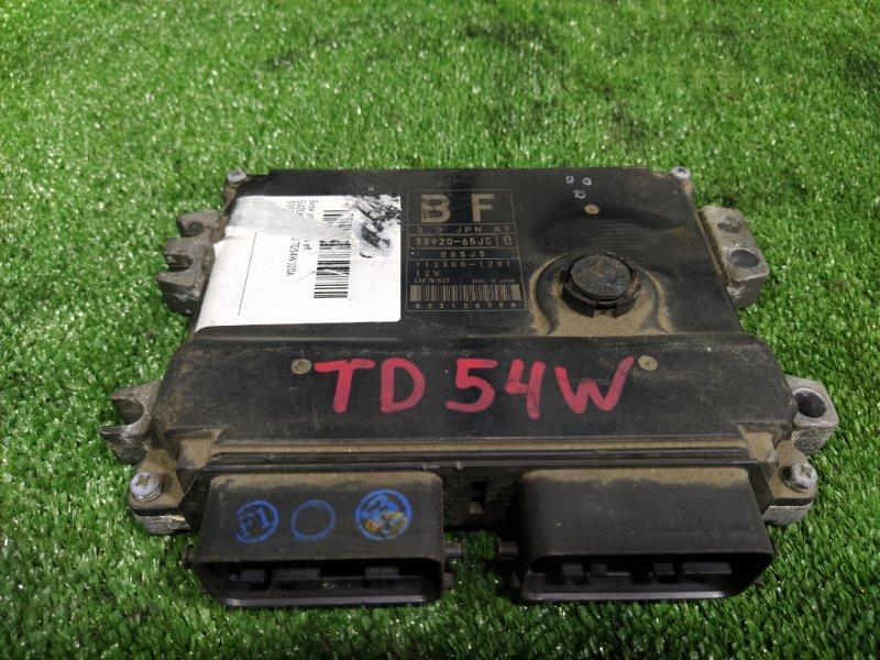 Блок управления efi Suzuki Escudo TD54W J20A (б/у)