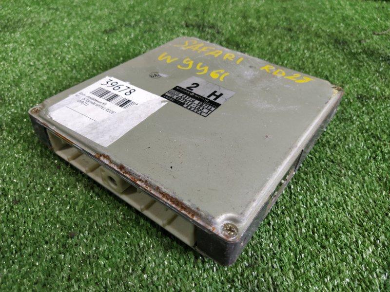 Блок управления efi Nissan Safari WYY61 RD28T (б/у)