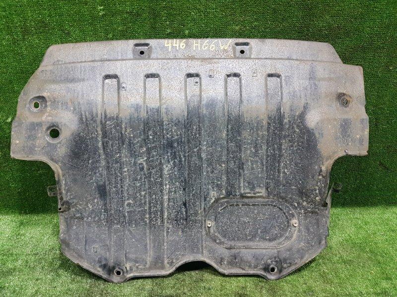 Защита двигателя Mitsubishi Pajero Io H66W 4G93 1998 передняя (б/у)