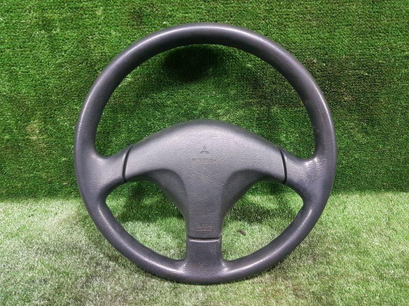 Руль с airbag Mitsubishi Pajero Io H66W 4G93 1998 (б/у)