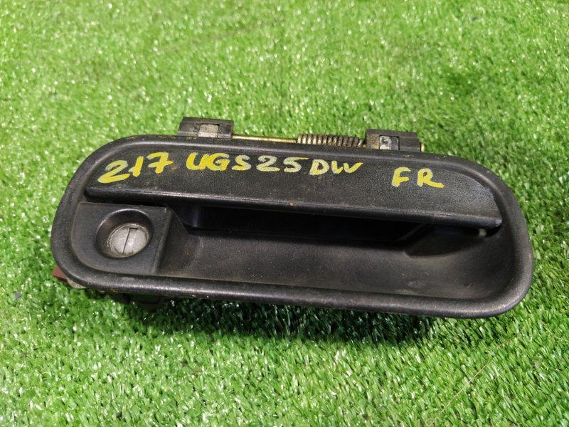 Ручка двери внешняя Isuzu Vehicross UGS25DW 6VD1 1997 передняя правая (б/у)
